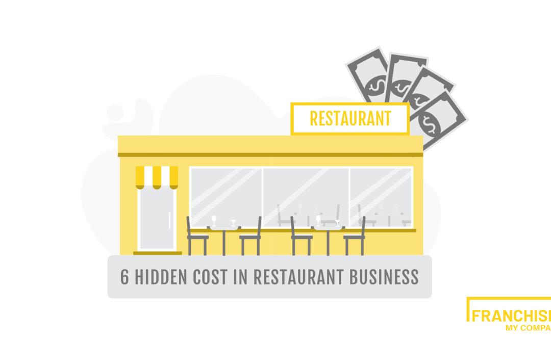 6 hidden costs in buying a restaurant business !